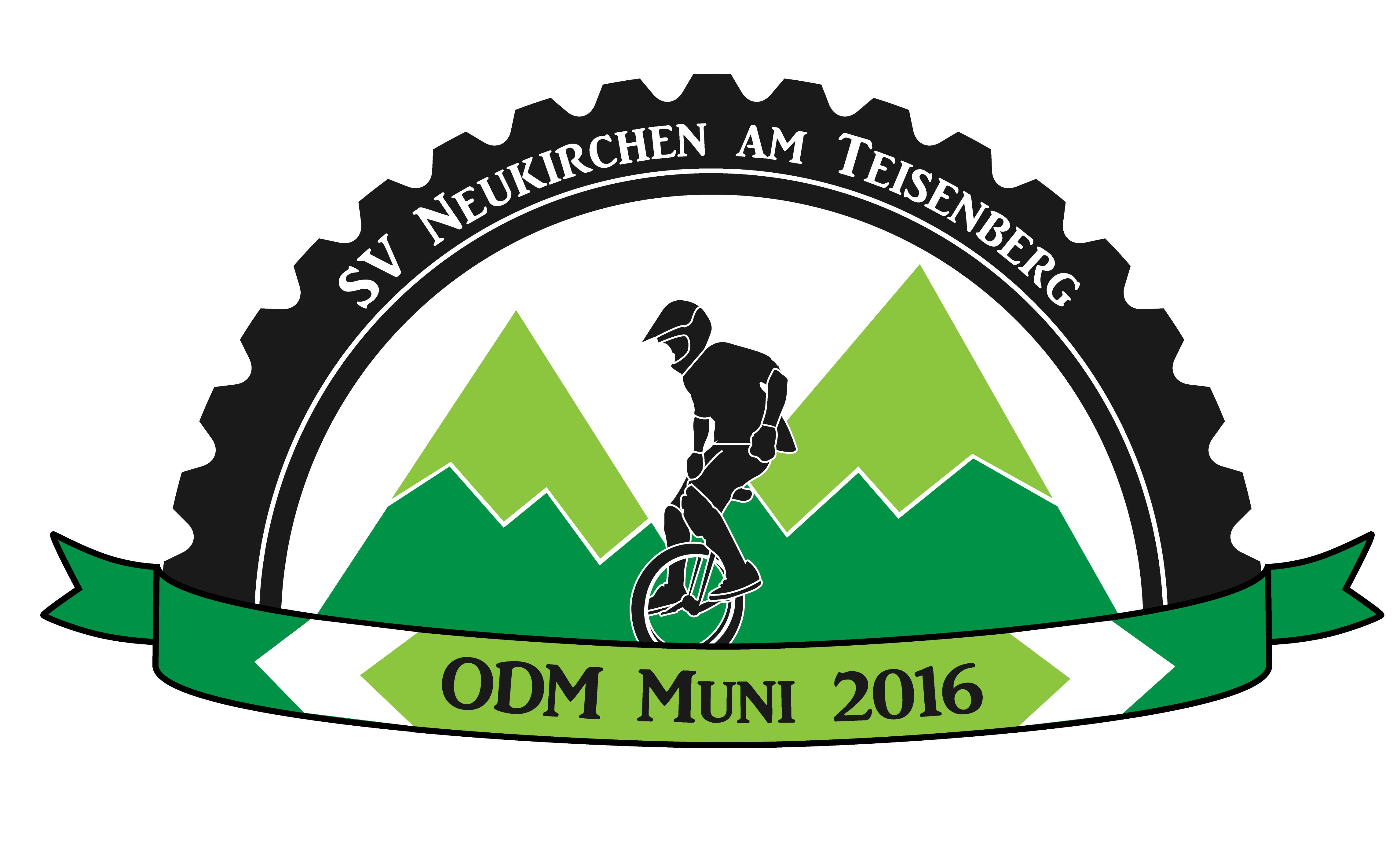 Offene Deutsche Meisterschaft Einrad Mountain Unicycling  2016 Neukirchen am Teisenberg
