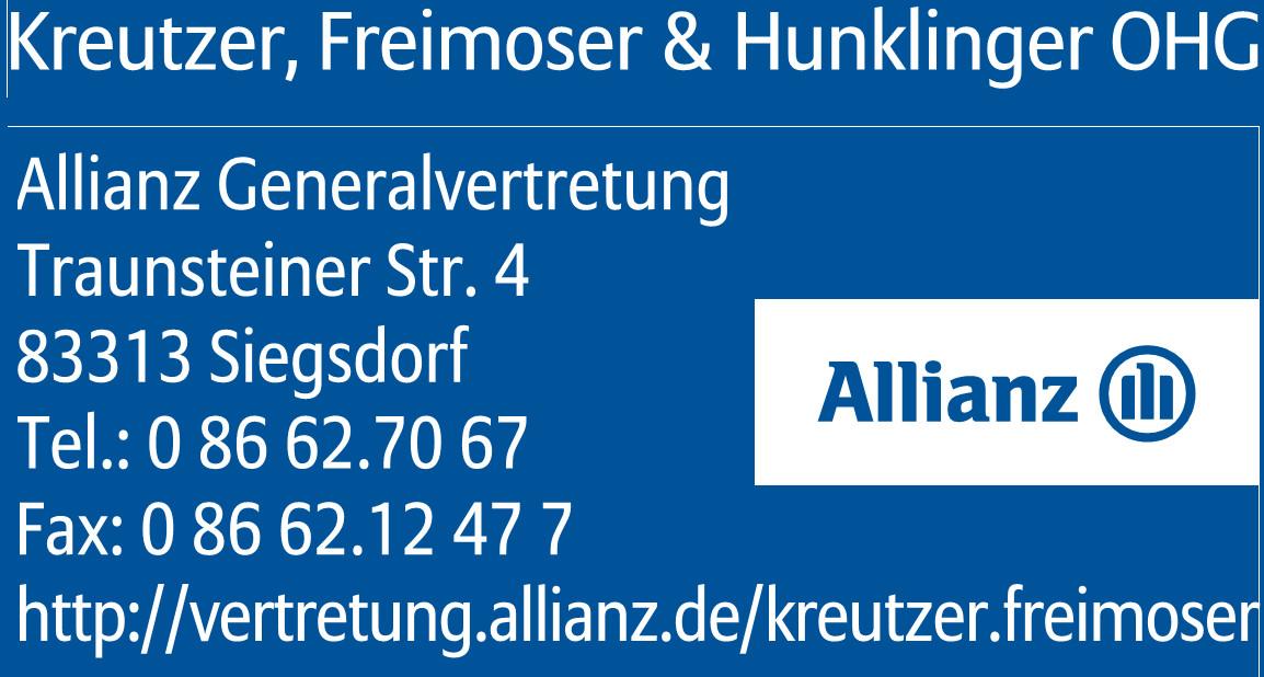 Allianz Generalvertretung Kreutzer, Freimoser & Hunklinger OHG