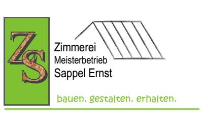 Zimmerei Ernst Sappel